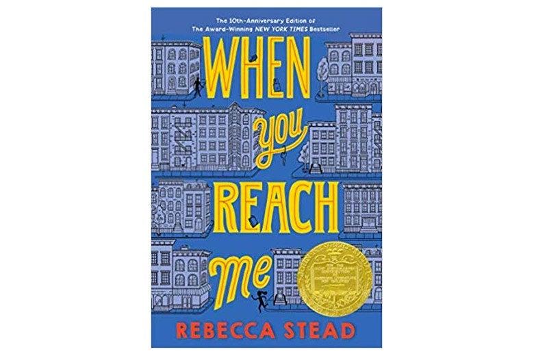 When You Reach Me book cover.