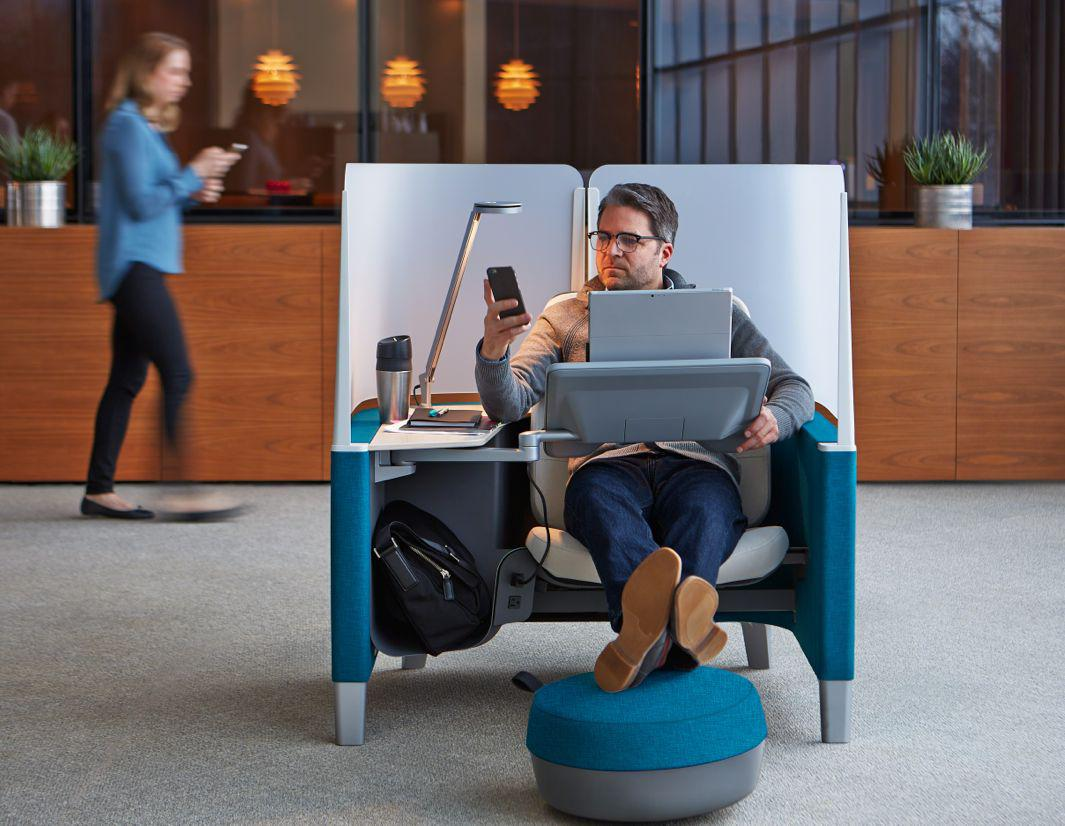 Steelcase S New Brody Worklounge Office Pods Designed By