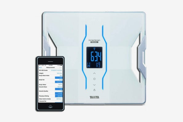 Tanita RD-953 iPhone and Android Bluetooth Scale.