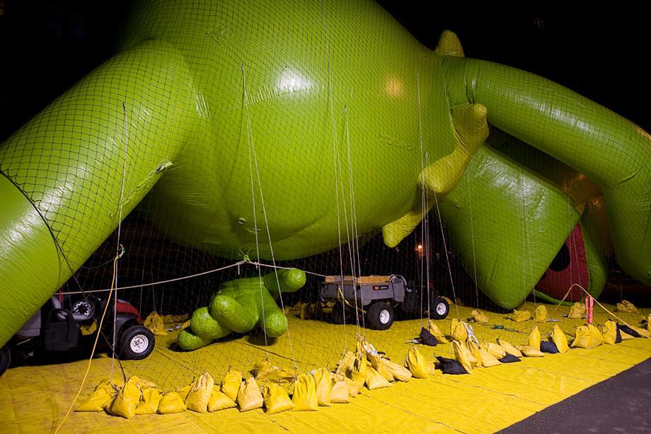 Frank Hallam Day, Blown Ups, Kermit the Frog