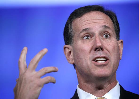 ormer U.S. Sen. Rick Santorum.
