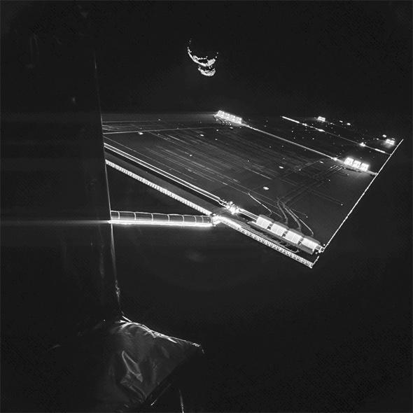 comet and Rosetta