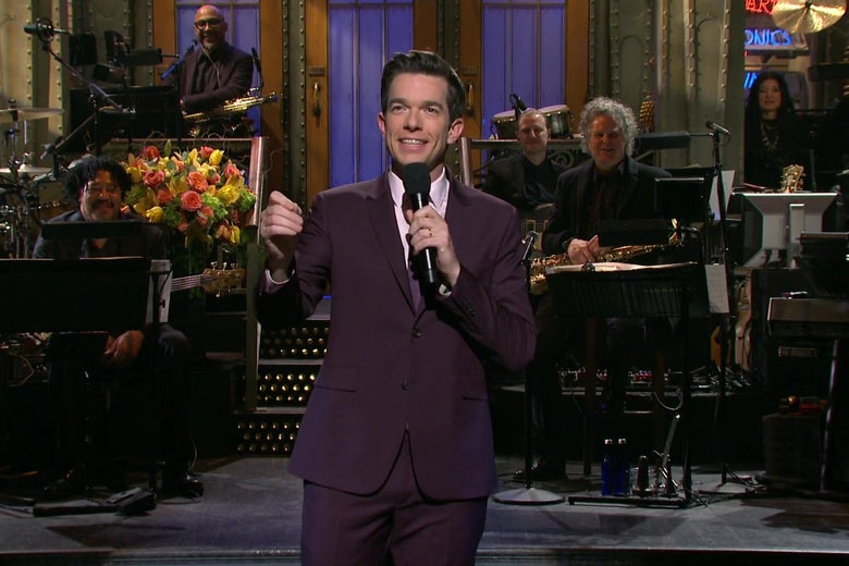 SNL: John Mulaney's 3rd SNL hosting gig featured music, magic, and Jake Gyllenhaal. - Slate thumbnail