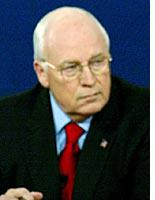 Cheney: Littering the floor with arguments