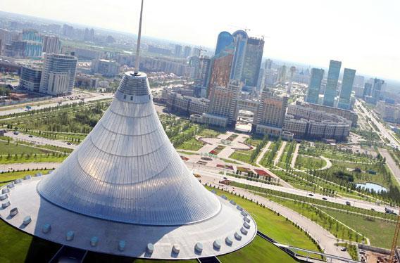 Astana, the capital city of Kazakhstan.
