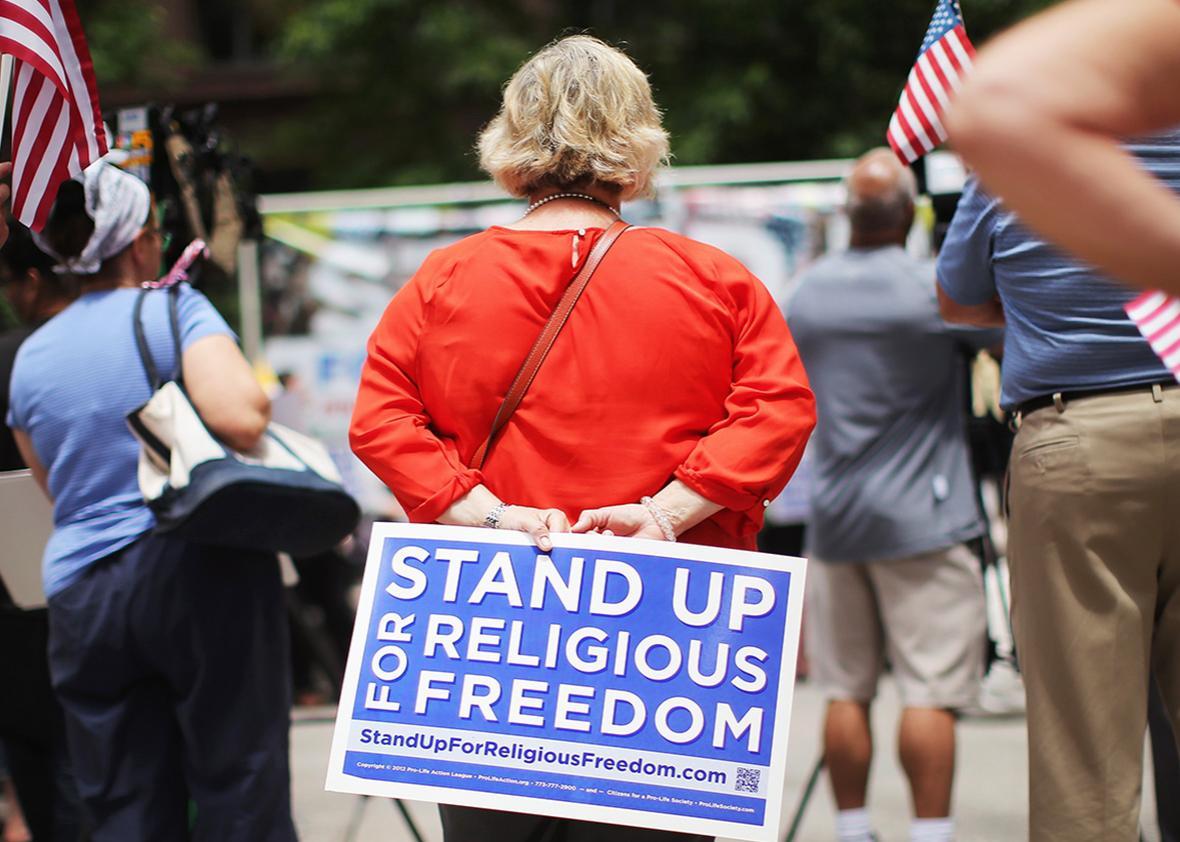 religious freedom.