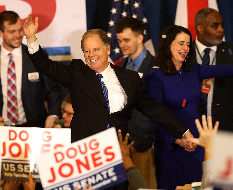 Doug Jones wins Alabama Senate race.