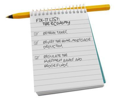 Fix-it List: The Economy