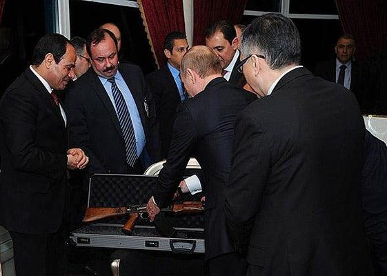 Putin AK47