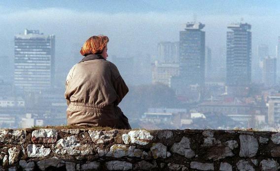 The Sarajevo skyline