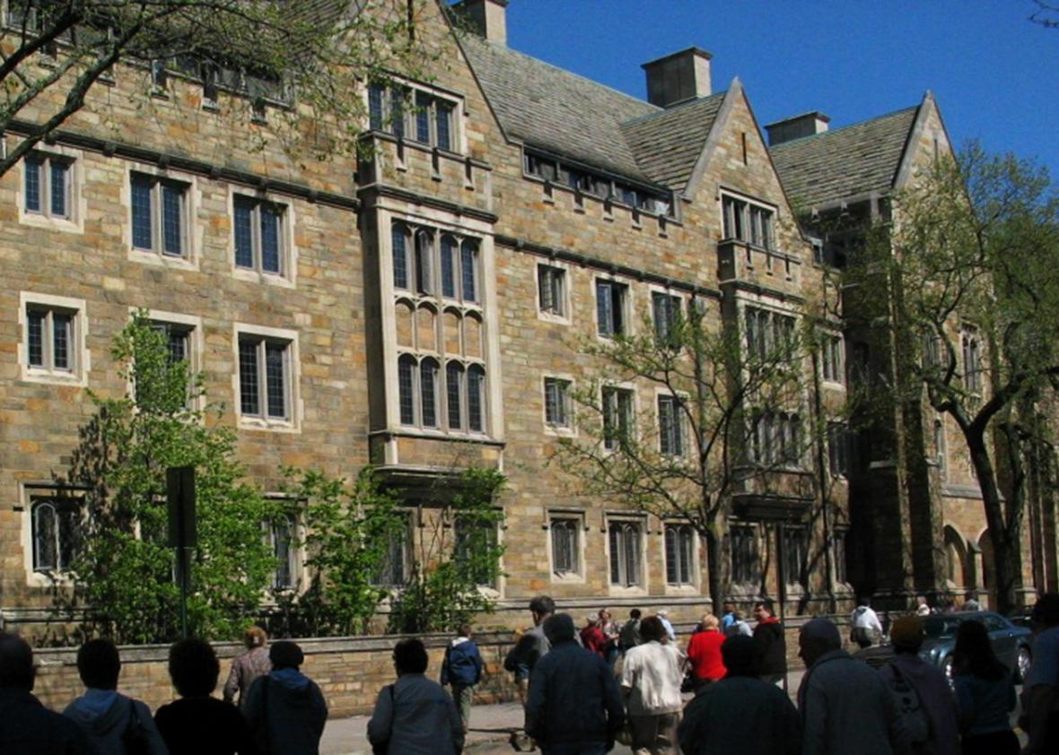Calhoun College at Yale University.