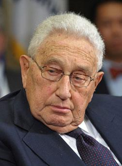 Former Secretary of State Henry Kissinger. Click image to expand.