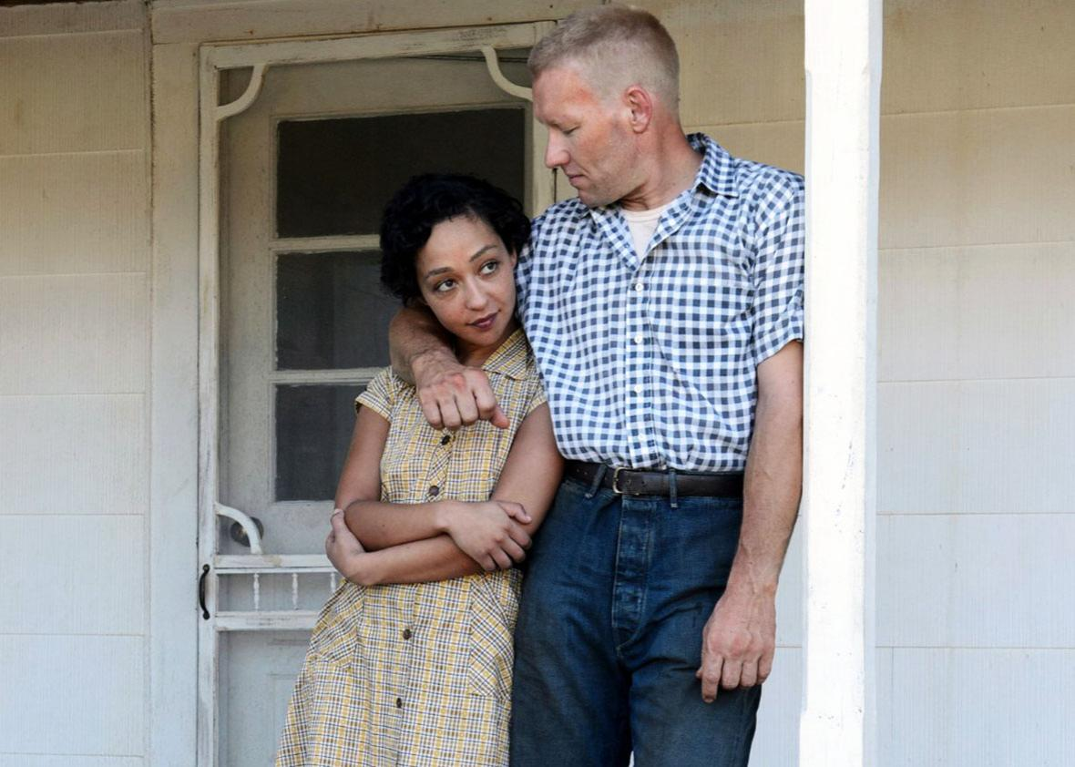Ruth Negga and Joel Edgerton in Loving.