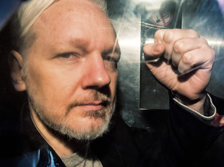 Julian Assange Indicted on 17 Counts of Violating the Espionage Act
