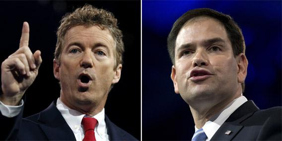 Rand Paul and Marco Rubio's presidential ambitions: Will ...