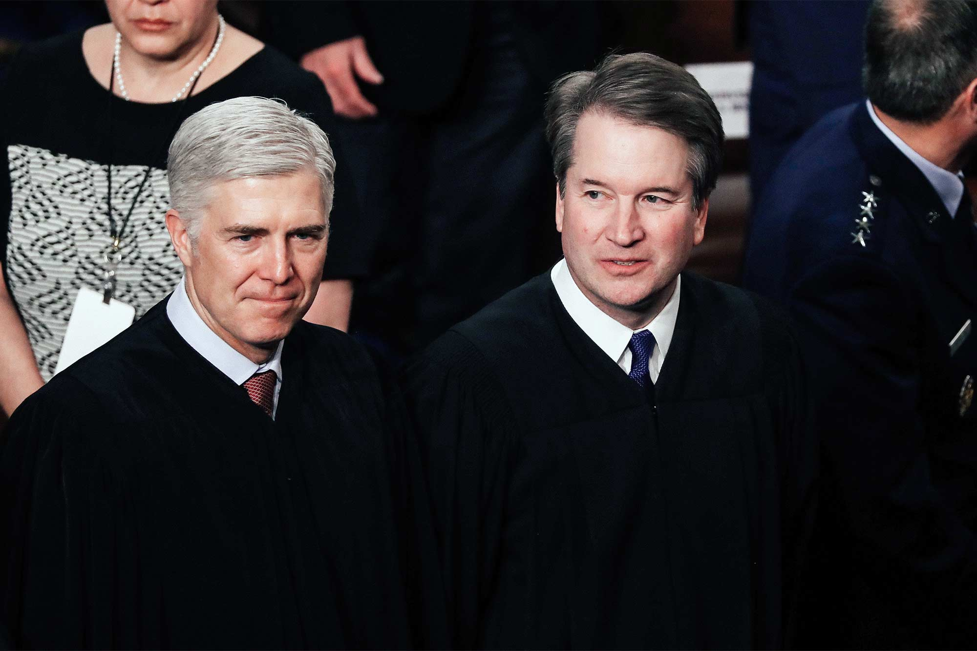 Neil Gorsuch and Brett Kavanaugh.