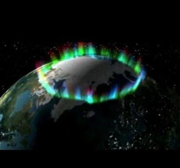 fake aurora