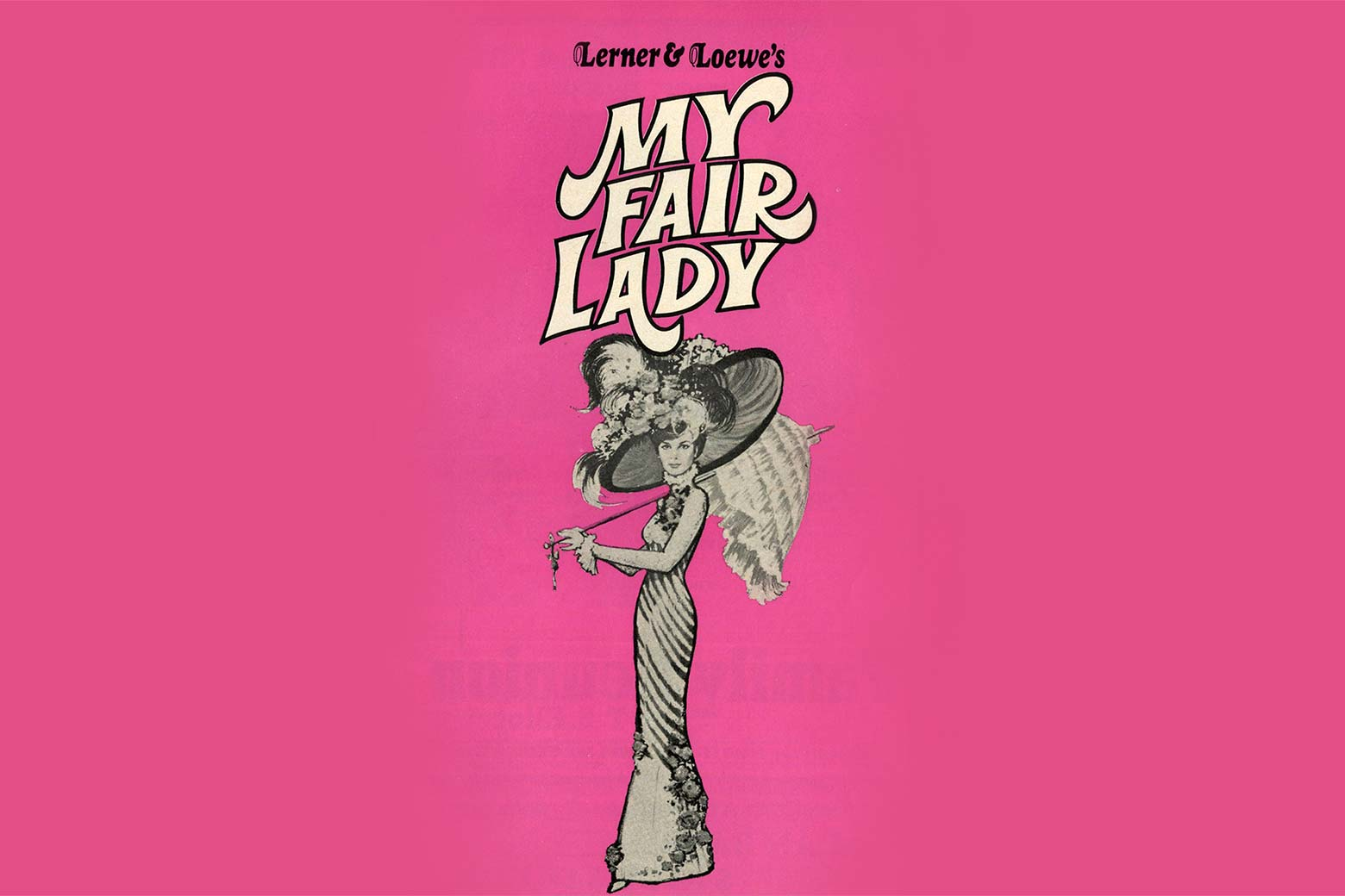 A 1970s poster for the musical My Fair Lady