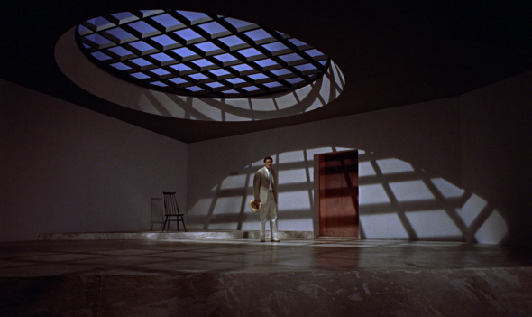 The prison cell from Dr No