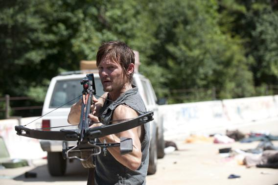 Norman Reedus as Daryl Dixon.