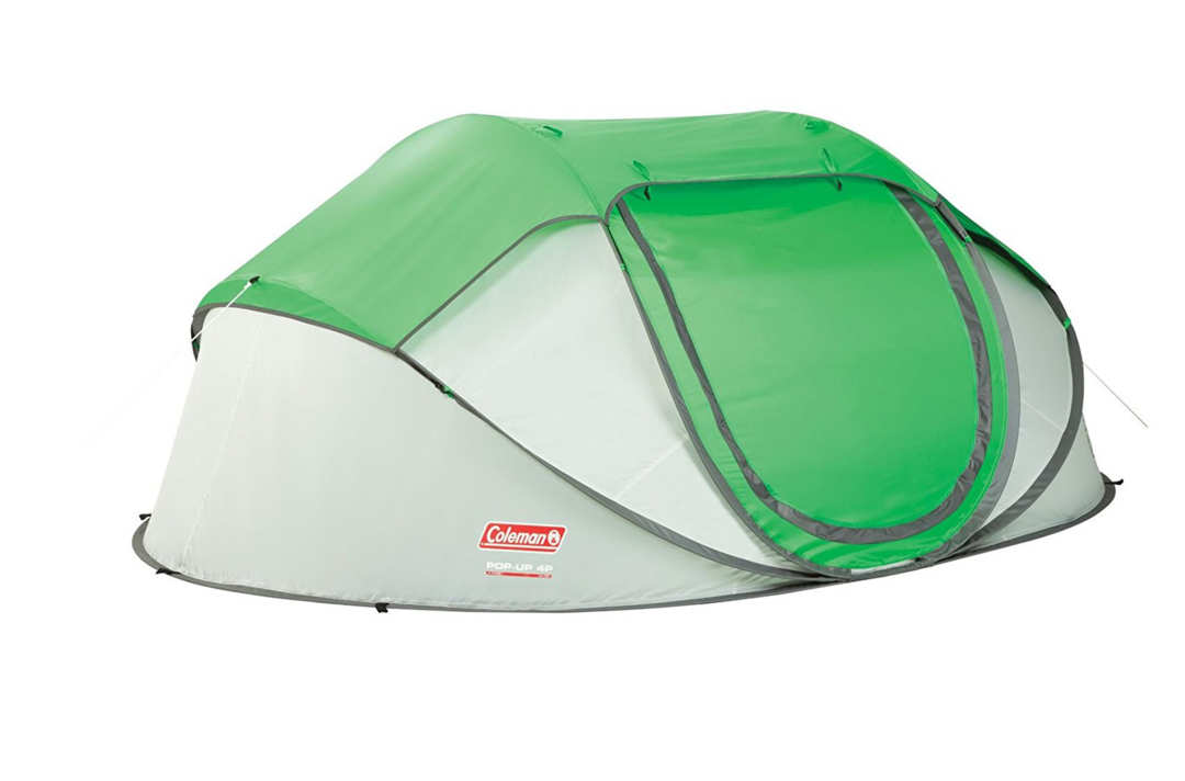Coleman Pop-up Tent.