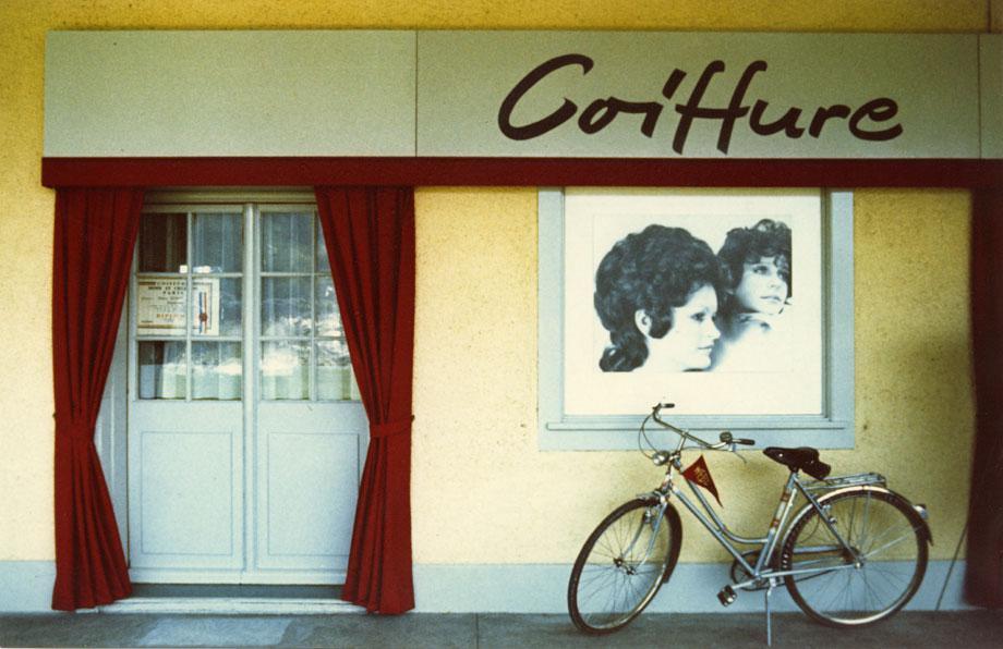 "Luzern, 1971, from the series ""Kodachrome,"" vintage c-print"