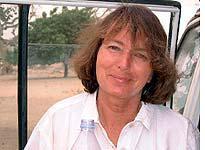 Carolyn Chadwick on the Sahara adventure