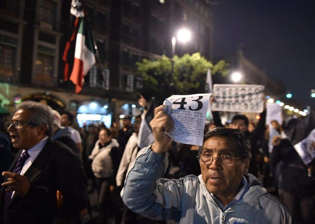 mexico protests ayotzinapa missing students.