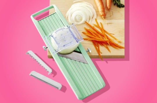 Benriner Vegetable Slicer.