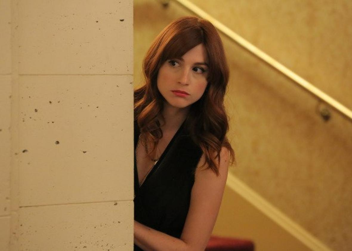 Aya Cash as Gretchen Cutler in You're the Worst.