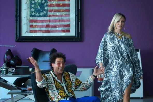 Cameron Diaz and Javier Bardem in The Counselor.