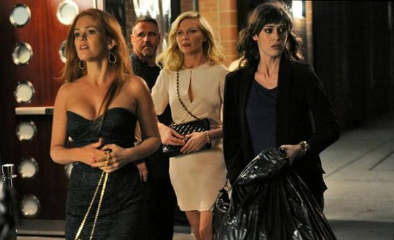 Kirsten Dunst, Lizzy Caplan and Isla Fisher in Bachelorette.