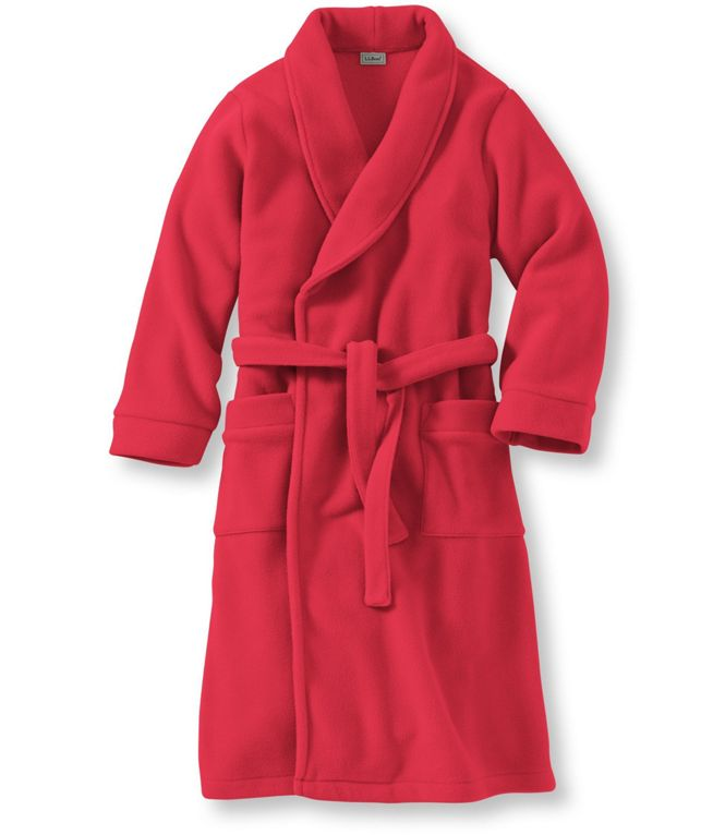 L.L.Bean Kids' Fleece Robe