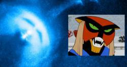 The Vela pulsar looks a bit like Brak from Space Ghost.
