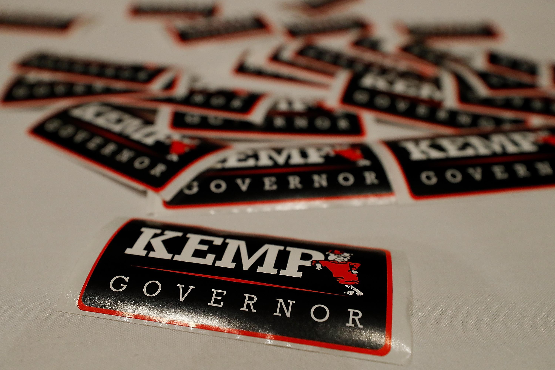Brian Kemp stickers