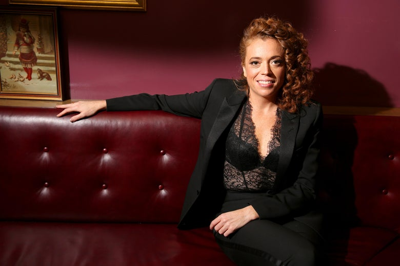 Comedian Michelle Wolf following the White House Correspondents' Dinner on April 28, 2018 in Washington, DC.