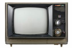 Broken television. Click image to expand.