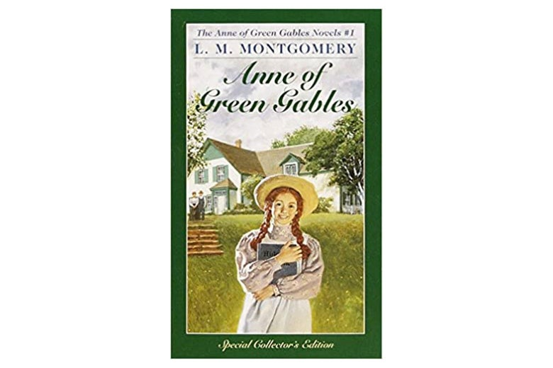 The cover of Anne of Green Gables.