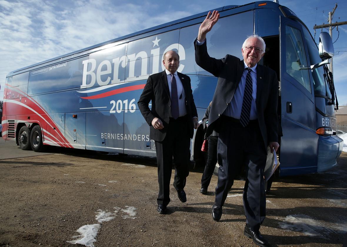 Bernie Iowa.