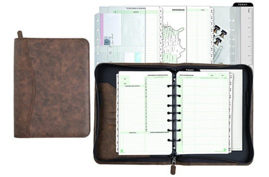 Day-Timer journal set.