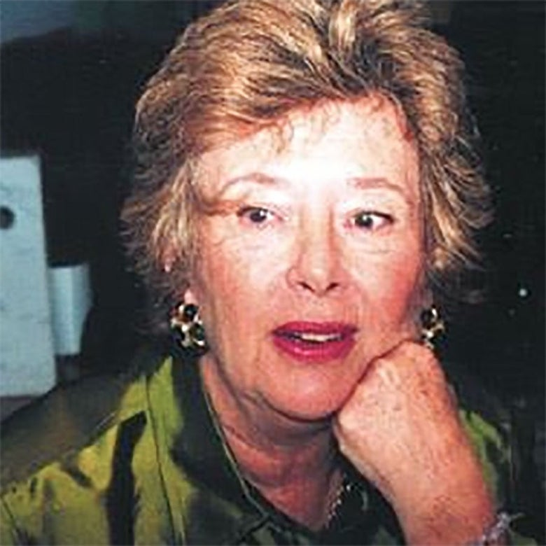 More recent color photo of Flora Schnall.