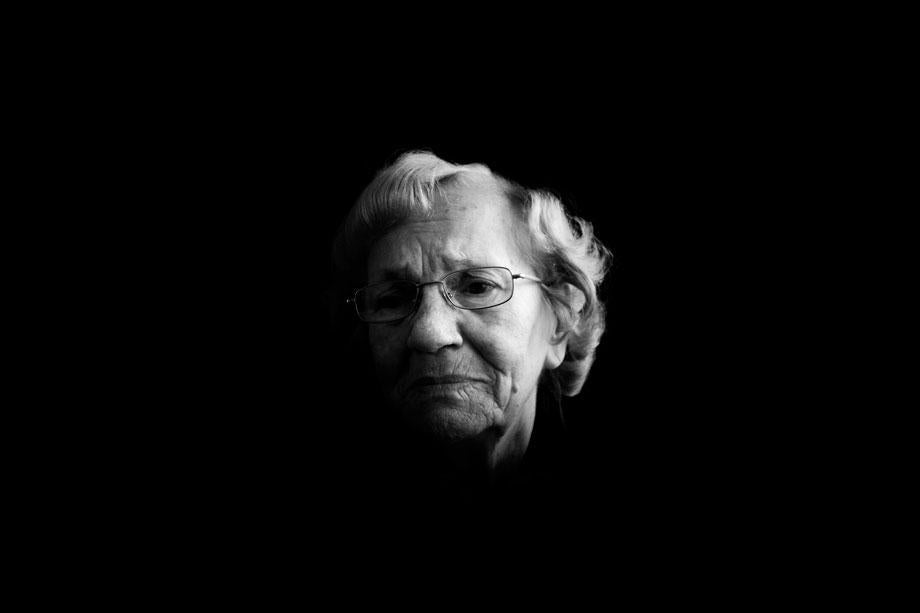 Sabina Nawara, KL Auschwitz, KL Ravensbruck and KL Buchenwald survivor. We worked by the fish ponds. When my friend refused to get into the water, our supervisor pushed her to the ground, put the spade on her neck, stepped on it, and strangled her.