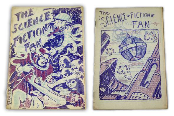 Issues of the Science Fiction Fan from circa 1939–40.
