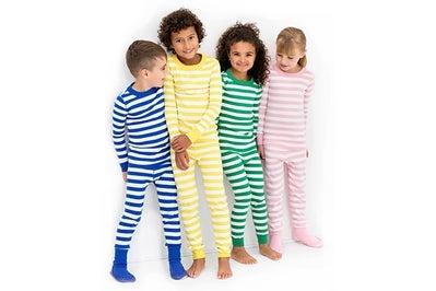 Hanna Andersson Organic Cotton Long John Pajamas