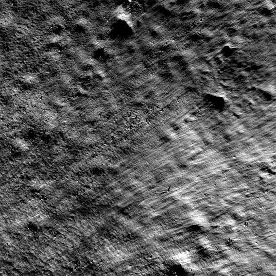 lunar crater patterns