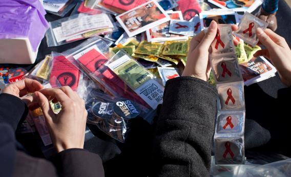 Condoms.