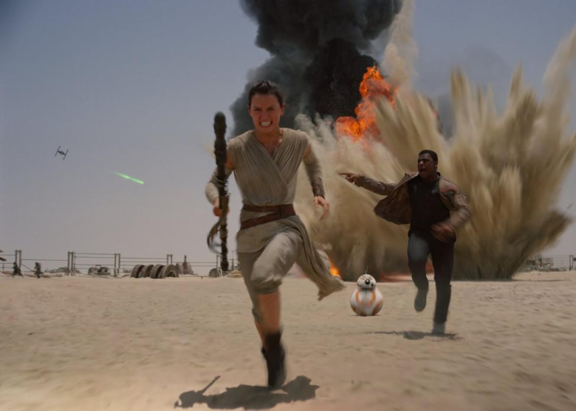 The Force Awakens is the movie female Star Wars fans deserve.