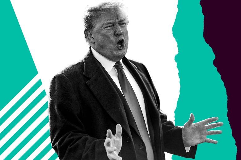 U.S. President Donald Trump in 2018.