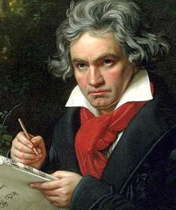Ludwig van Beethoven. Click image to expand.