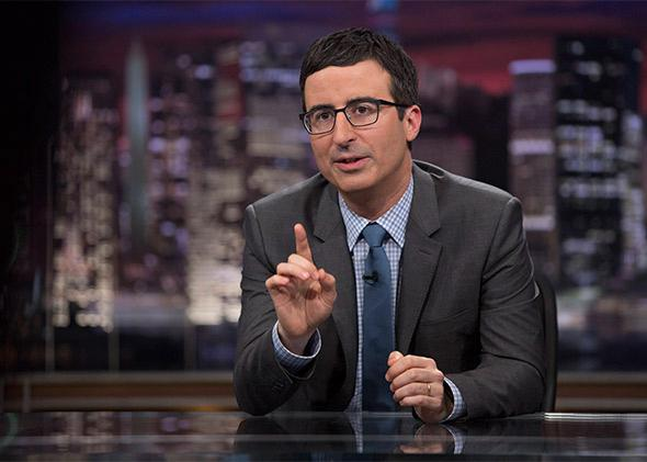 John Oliver hosts Last Week Tonight.